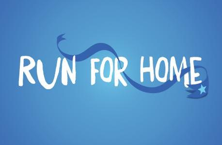 Global Run For Home Logo