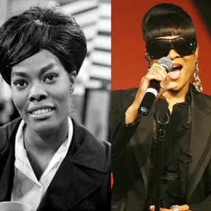 Dionne Warwick and Gabrielle
