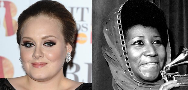 Adele and Aretha Franklin