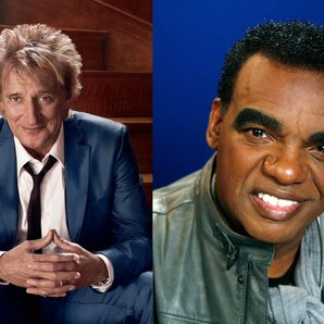 Rod Stewart and Ron Isley