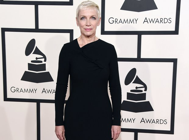 Annie Lennox at the Grammy Awards 2015
