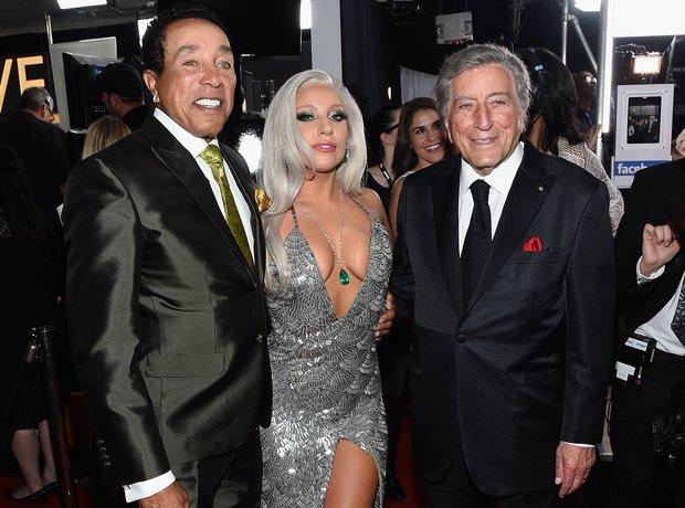 Smokey Robinson, Lady Gaga, Tony Bennett
