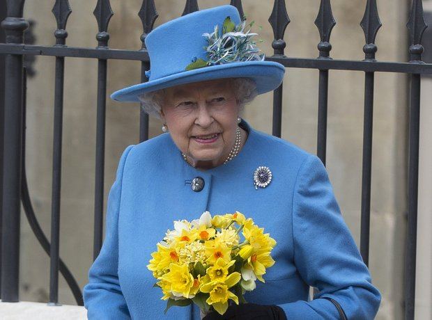 Queen Elizabeth II celebrates Easter 2015