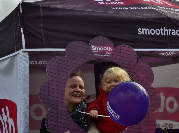 Smooth Radio at the British Food Festival 2015