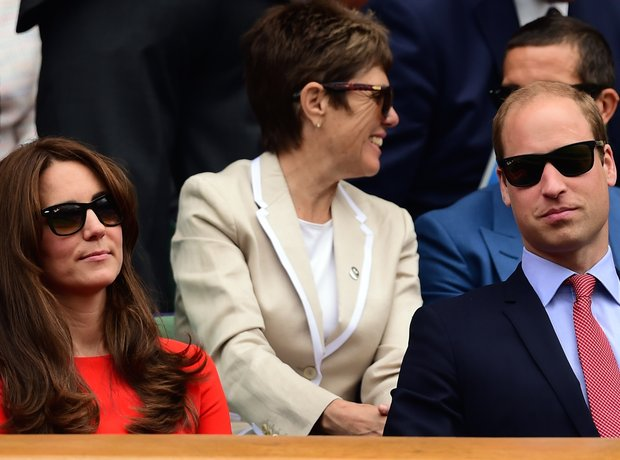 Kate Middleton Prince William Wimbledon