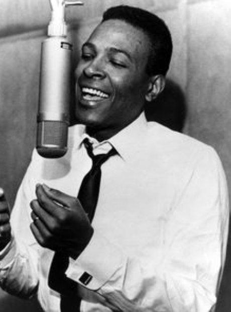 Marvin Gaye singing