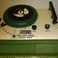 Image 7: music inspired record player cake