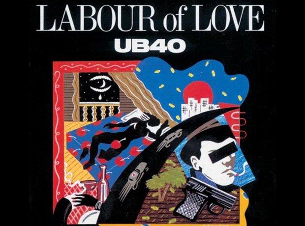 UB40 80s album covers