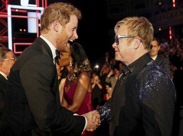 Elton John Royal Variety