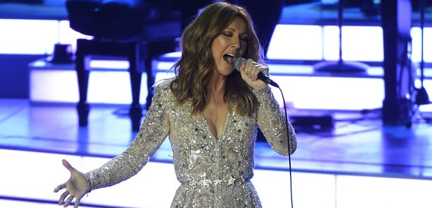 Celine Dion performs in Vegas 2015