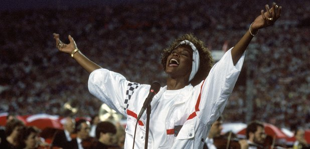 Whitney Houston Super Bowl 1991