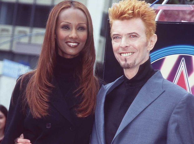 Couples Gallery David Bowie and Iman