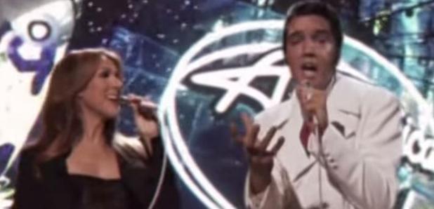 Elvis Celine Dion Duet American Idol