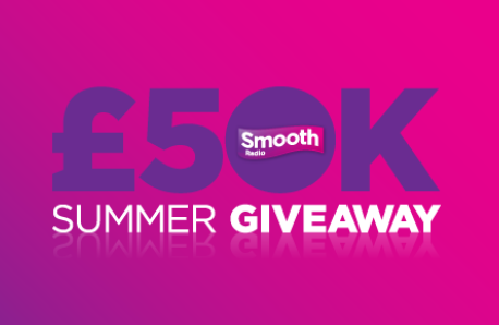 Smooth's £50k Summer Giveaway PNG NO STRAPLINE