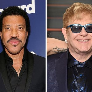 Lionel and elton john