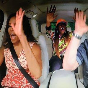Michelle Obama, James Corden, Missy Elliot Carpool