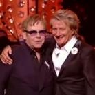 Elton John and Rod Stewart 2013 Brit Icons Award