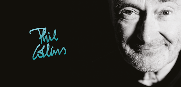 Phil Collins Official Tour Image