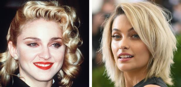Madonna and Paris Jackson